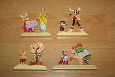 4 Figurines des BD bandes dessinées Astérix & Obélix en métal Mint (no tintin)