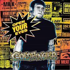 Open Your Eyes Goldfinger MUSIC CD