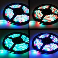 5M 300 LED Strip RGB Light 5050 Waterproof 3528 SMD Flexible Tape Lamp + Remote
