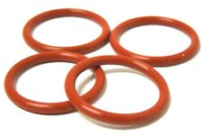 """1/2"""" NPT O'RING (4-PACK) WELDLESS HOME BREW KETTLE BREWING FDA SILICONE <Q-117x4"""