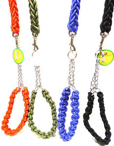 """VERY STRONG ROPE DOG LEAD LEASH 130CM/52"""" LONG TRAINING FOR LARGE SIZE DOGS"""