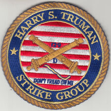 USS HARRY S. TRUMAN STRIKE GROUP CHEST PATCH