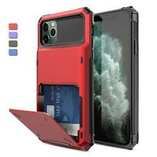 Hybrid Card Wallet Holder Hard Case Cover For iPhone 12 Pro Max 11 XR XS X 6 7 8