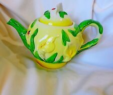Majolica Formalities Teapot Collection Ceramic Teapot . By Baum Bros.