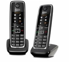Gigaset C530 HX Duo Schwarz IP Schnurlostelefon DECT ohne Basis