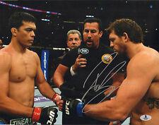 RYAN BADER SIGNED AUTO'D 11X14 PHOTO BAS BECKETT COA UFC TUF 8 WINNER 144 192 D