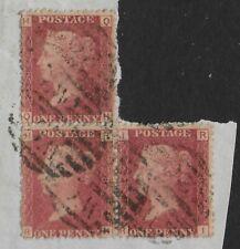 SG43.1d.Rose-Red Plate 87-Irregular Strip 3 On Part Of Original Letter.Ref.11115