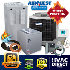New Listing2.5 Ton AirQuest by Carrier 15 Seer 80% 110K Btu Gas Furnace/Ac System w/Lp Kit