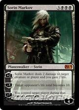 SORIN MARKOV M12 Magic 2012 MTG Black Planeswalker MYTHIC RARE