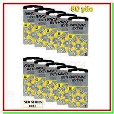 batterie per apparecchi acustici 10 rayovac extra 60 pile per protesi