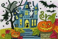 BOTHY THREADS SPOOKY COUNTED CROSS STITCH KIT HALLOWEEN  XJR35 NEW 2019