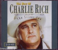 CHARLIE RICH All Time Favorites Silver Fox Country Collection 3CD 70s UNCHAINED