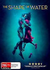 The Shape of Water (DVD, 2017) Australian Stock