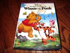 The Many Adventures of Winnie the Pooh Disney (DVD,2013) NEW;Free + Fast Shipper
