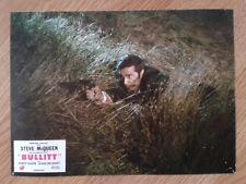 STEVE McQUEEN: BULLITT scarce vintage 1968 French lobby card #12 Jackie Bisset