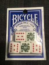 Poker Dice Set Bicycle Sealed New Fast Shipping Worldwide!