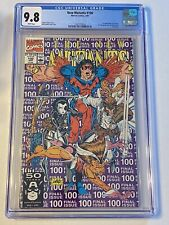 New Mutants #100 CGC 9.8 NM/MT 1st App of X-Force & Shatterstar Last Issue WHITE