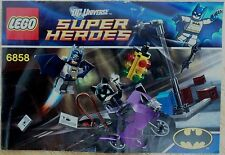 Lego 6858 CATWOMAN CATCYCLE CITY CHASE Instructions ONLY NO BRICKS FREE P&P