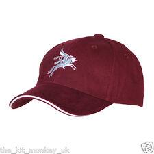 Maroon Airborne Forces Pegasus Baseball Hat / Cap Para / Paratrooper