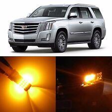 Alla Lighting Front Signal Light Amber LED Bulbs for 02~14 Cadillac Escalade ESV