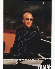 Paul Shaffer Hand Signed 8x10 Color Photo+Coa Late Night Letterman To Bob