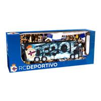 Autobús Real Club Deportivo de La Coruña Oficial - Escala 1:50 - Retro Fricción
