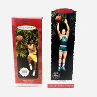 Hallmark Keepsake Ornaments- MAGIC JOHNSON  And LARRY BIRD NIB