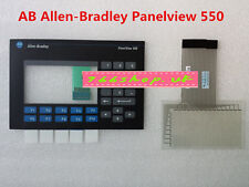 New For Allen Bradley 550 2711-B5A8 2711B5A8L1 Keypad Replacement + Touch Screen