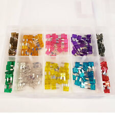 200 Pcs Mini Blade Fuse Assorted Kit Mixed All Amp Amperages ATO Car