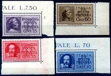 POSTA PNEUMATICA - GALILEO E DANTE, 2 SERIE NUOVE ADF
