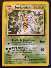 Carte Pokemon DARDARGNAN 17/102 Rare Set de Base Wizard Française NEUF