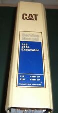 CAT CATERPILLAR 315 315L EXCAVATOR SERVICE SHOP REPAIR MANUAL BOOK S/N 4YM 6YM