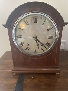 W & H Edwardian Clock With Chime