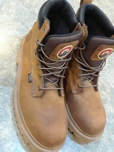 Men Work Boots Red Wing Irish Setter Waterproof Safety Toe Boot 83614 Size 11.5