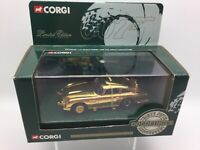 Corgi 04202 Gold Plated James Bonds Aston Martin DB5 -Goldfinger in 1:43 Scale