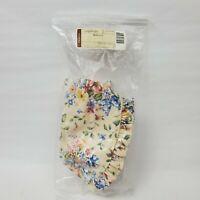 Longaberger Spring Floral Biscuit Basket Fabric Liner  20103138 New Discontinued