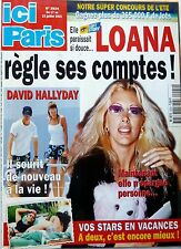 2001: LOANA_DAVID HALLYDAY_PATRICIA KAAS_MARIE LAFORET_LOVA MOOR_ROGER HANIN