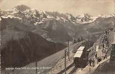 Schynige Platte Switzerland Jungfrau Breithorn Real Photo Postcard J50198