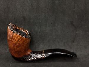 Italian Estates: Savinelli Autograph Smooth Bent Billiard (3) pipe mint