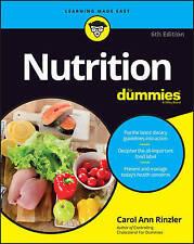 NEW Nutrition For Dummies by Carol Ann Rinzler