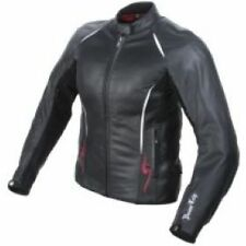 Power Trip Ladies Harlow Leather Jacket Black