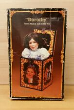 Enesco Wizard of Oz 50th Anniversary Dorothy Music Box / Jack in the Box 1988