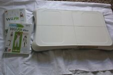 Wii FIT PLUS BUNDLE NINTENDO BALANCE BOARD PLUS GAMES PRE-OWNED