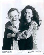 1976 Jack Lemmon Smoking Cigar Genevieve Bujold Alex & The Gypsy Press Photo