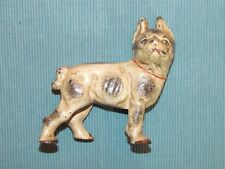 Boston Terrier Bull Dog Cast Iron Bank-very old