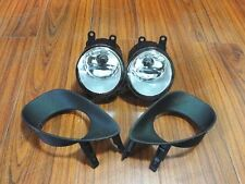 Front Fog Lamp Lights With Covers Kits For Toyota Yaris 3DR 2006-2010