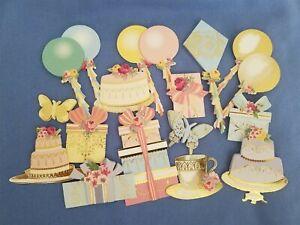 Anna Griffin Mini 3D Celebration Stickers Set of 15