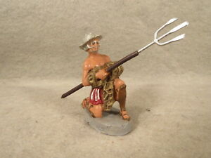 Chialu Roman Gladiator, net and trident, the first