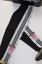 ADIDAS 90'S VINTAGE TRACKSUIT BOTTOMS,POPPERS BOTTOM,RETRO,D5,SIZE:LARGE