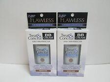 (2) Zuri Flawless Treat & Conceal Bb Cream 8-in-1 Skin Perfector - Medium/Dark